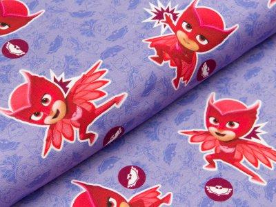 Jersey Swafing PJ Masks-Pyjamahelden - Eulette - lila/rot