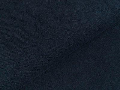 Leicht angerauter Strickstoff Bene Swafing made in Italy - dunkles blau