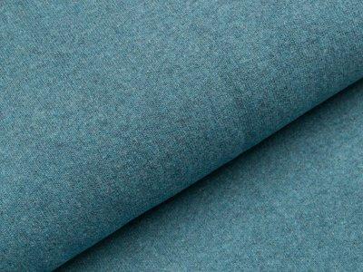Leicht angerauter Strickstoff Bene Swafing made in Italy - jeansblau
