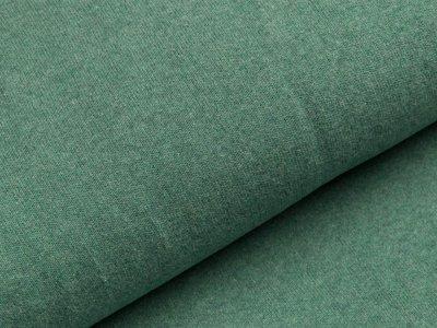 Leicht angerauter Strickstoff Bene Swafing made in Italy - altgrün