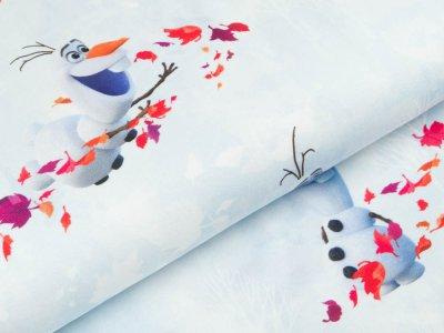 Jersey Swafing Disney-Frozen 2 - Olaf - helles blau