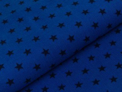 Feincord Babycord Swafing Justin - Sterne - royalblau/marine