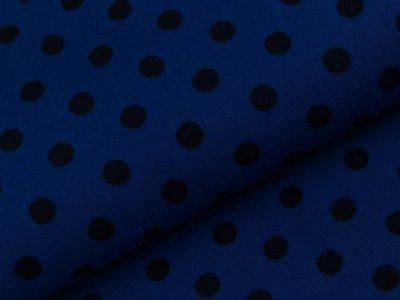 Feincord Babycord Swafing Josh - Punkte - royalblau/marine
