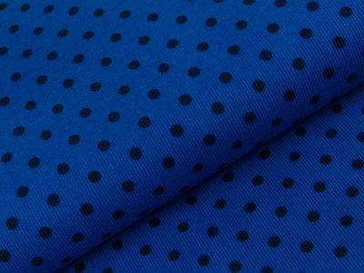 Feincord Babycord Swafing Jost -mini Punkte - royalblau/marine