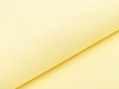 Glattes Bündchen im Schlauch Heike Swafing 100 cm breit - pastellgelb