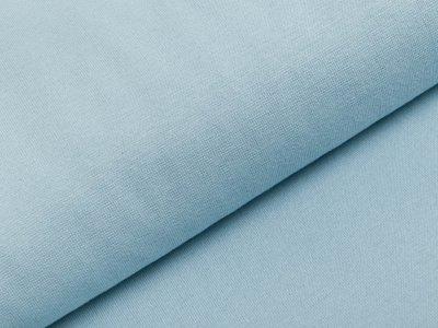 Glattes Bündchen im Schlauch Heike Swafing 100 cm breit - helles blau