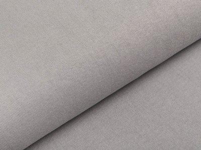 Glattes Bündchen im Schlauch Amy Swafing ca. 90 cm breit - grau