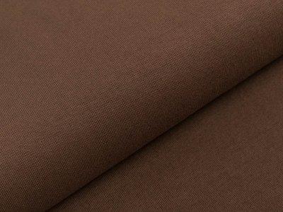 Glattes Bündchen im Schlauch Amy Swafing ca. 90 cm breit - braun