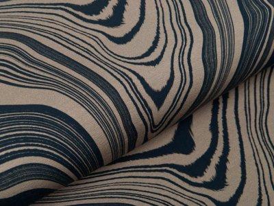 Sweat French Terry Modal Swafing Stone Layers by Thorsten Berger - stilisierte Gesteinsschichten - schlamm