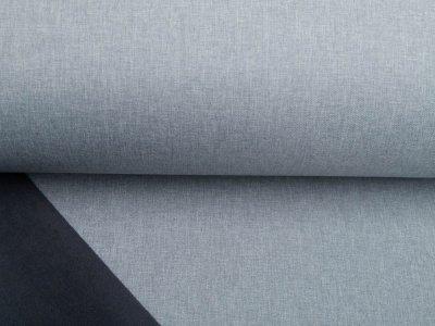 Jackenstoff Softshell Melange Swafing Skyler - meliert grau