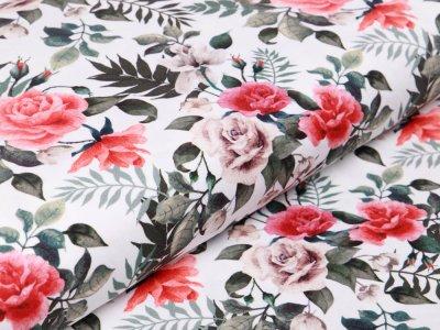 Jersey Swafing Jonne - Rosenblüten - weiß