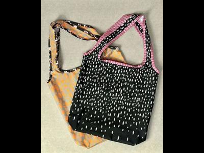 Taschenstoff My lovely Shopping Bag by Cherry Picking Swafing PANEL ca. 100 x 150cm