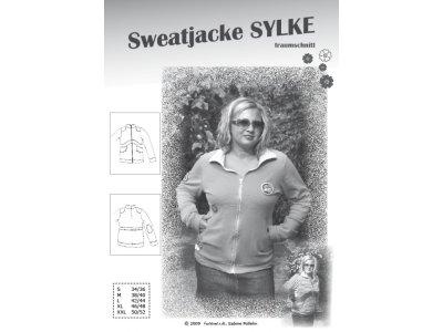Schnittmuster SYLKE Sweatjacke Farbenmix