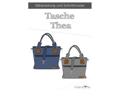 Papier-Schnittmuster Fadenkäfer - Tasche Thea - Accessoires