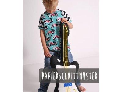 Papier-Schnittmuster Lenipepunkt  Raglan.Kids - Shirt