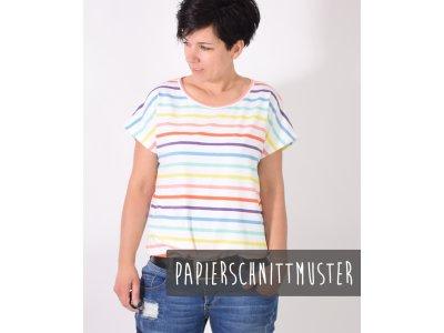 Papier-Schnittmuster Lenipepunkt Teasy.Shirt - Shirt
