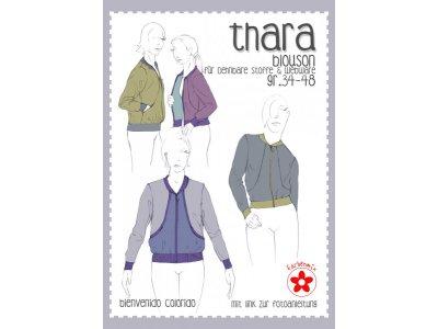 Papierschnittmuster Farbenmix Thara Damenblouson