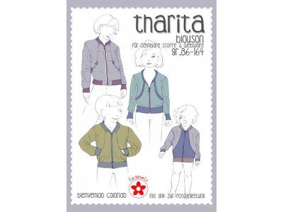 Papierschnittmuster Farbenmix Tharita Mädchenblouson