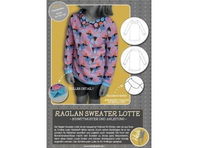 Papierschnittmuster Hedi - Sweater Lotte - Mädchen
