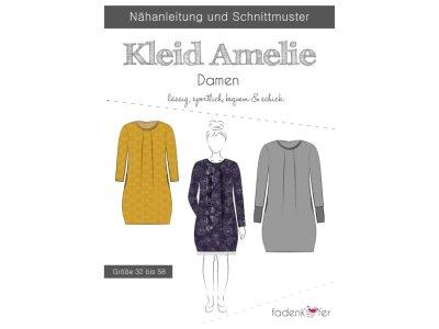 Papier-Schnittmuster Fadenkäfer - Kleid Amelie - Damen