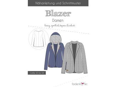 Papier-Schnittmuster Fadenkäfer - Blazer - Damen