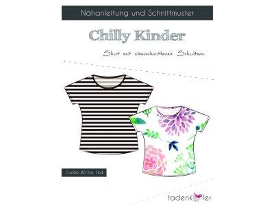 Papier-Schnittmuster Fadenkäfer CHILLY Shirt Kinder