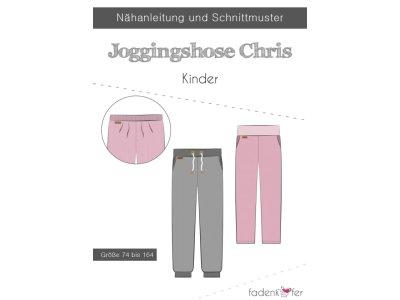 Papier-Schnittmuster Fadenkäfer - Jogginghose Chris - Kinder