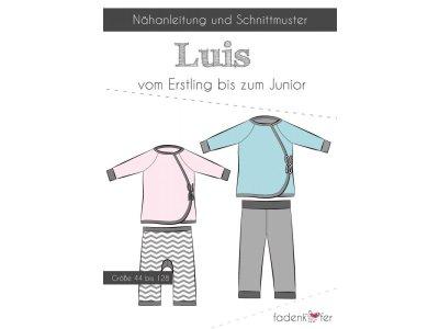 Papier-Schnittmuster Fadenkäfer LUIS Erstlings-Set