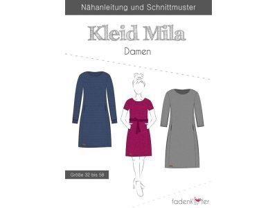 Papier-Schnittmuster Fadenkäfer - Kleid Mila - Damen