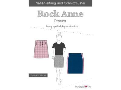 Papier-Schnittmuster Fadenkäfer - Rock Anne - Damen
