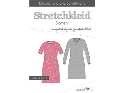 Papier-Schnittmuster Fadenkäfer - Stretchkleid Carolin - Damen