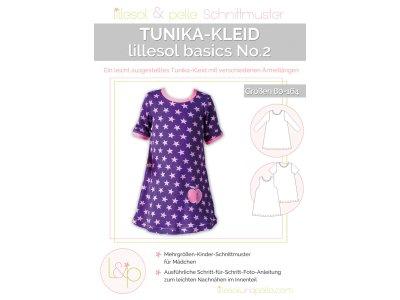 Papierschnittmuster lillesol basics No.2 Tunika-Kleid