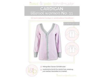 Papierschnittmuster lillesol women No.11 Cardigan