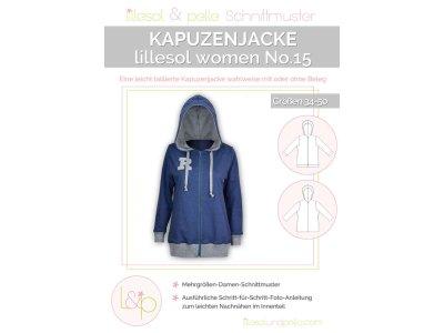 Papierschnittmuster lillesol women No.15 Kapuzenjacke
