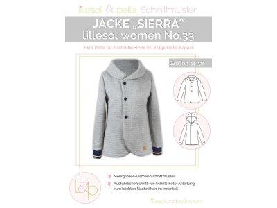 Papierschnittmuster lillesol women No.33 Jacke Sierra