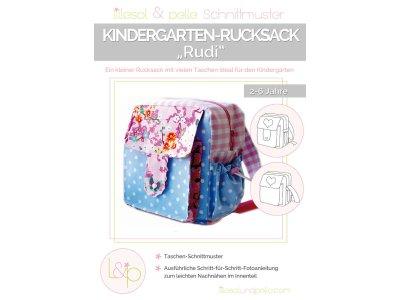 Papierschnittmuster lillesol Kindergartenrucksack Rudi