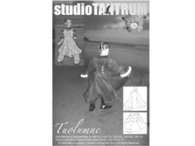 Schnittmuster TUOLUMNE Kleid / Mantel & Schürzenkleid Farbenmix