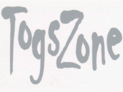 """Transfer Bügelbild """"TogsZone"""" grau"""