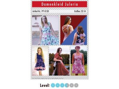 Papier-Schnittmuster Paule und Paulinja - Kleid Juleria - Damen