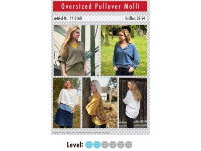 Papier-Schnittmuster Paule und Paulinja - Oversize Pullover Molli - Damen