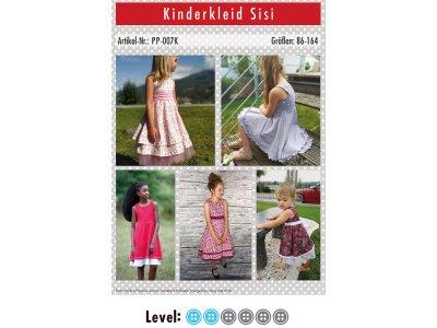 Papier-Schnittmuster Paule und Paulinja - Kleid Sisi - Mädchen