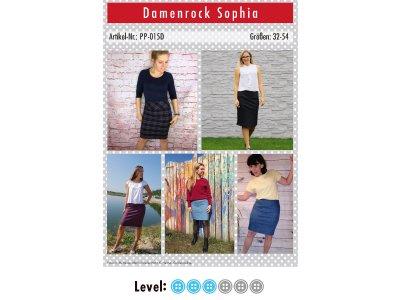 Papier-Schnittmuster Paule und Paulinja - Rock Sophia - Damen