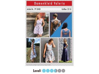 Papier-Schnittmuster Paule und Paulinja - Kleid Valeria - Damen