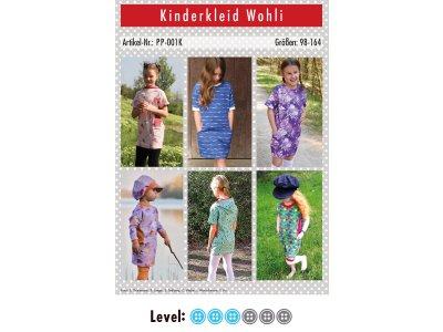 Papier-Schnittmuster Paule und Paulinja - Kleid Wohli - Mädchen