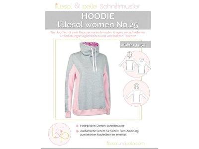 Papierschnittmuster lillesol women No.25 Hoodie
