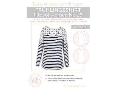 Papierschnittmuster lillesol women No.28 Frühlingsshirt