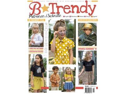 B-Trendy NR: 16 Frühling/Sommer 2021 - Schnittmuster-Zeitschrift für Kinder