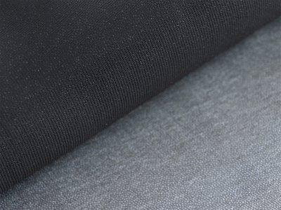 Vliesstoff zum Aufbügeln 2 m x 0,90 cm - 40g/m² - schwarz