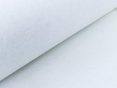 Vliesstoff zum Aufbügeln 2 m x 0,90 cm - 40g/m²  - weiß