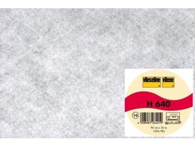 Volumenvlies Vlieseline H640 fixierbar von Freudenberg 90 cm breit weiß
